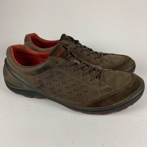 Ecco Leather Lace Up Shoes